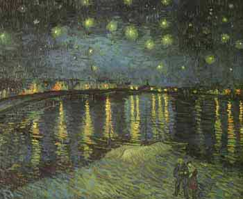 Vincent van Gogh: Starry Night on the Rhone (1888)